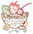 Freeze dried (lyophilized) Granola
